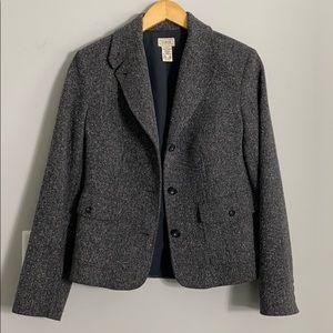 L.L. Bean Tweed Prep Boy Women's Blazer